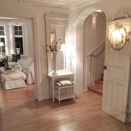 Stile shabby chic per una bella casa svedese paperblog - Stile shabby chic casa ...