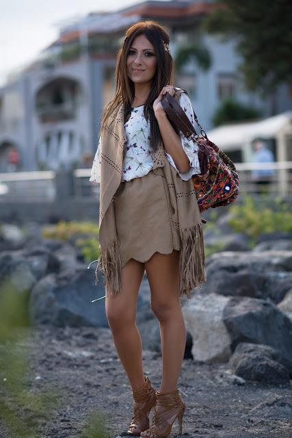 Hippie Chic on the rocks ..... By ALis - Look dalla Milano Fashion Week