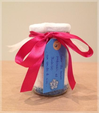 Sali da bagno fatti in casa come regalo paperblog - Sali da bagno profumati ...