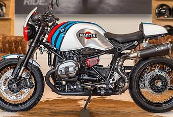 bmw r ninet martini by bmw moto ride toulouse paperblog. Black Bedroom Furniture Sets. Home Design Ideas