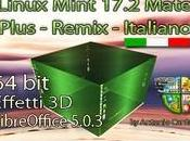 Linux Mint 17.2 Mate italiano plus 64bit