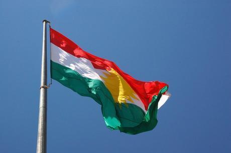 Bandiera del Kurdistan.