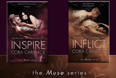 News: Restyling e nuova cover per la serie The Muse di Cora Caramck