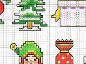 Idee Natale punto croce