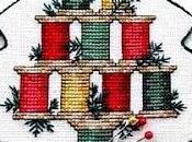 Cross stitch- Christmas- albero natale rocchetti filo