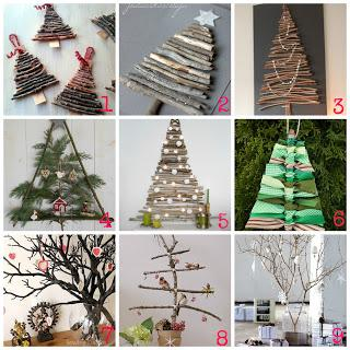 Decorazioni di natale fai da te con i rami secchi paperblog - Creare decorazioni natalizie ...