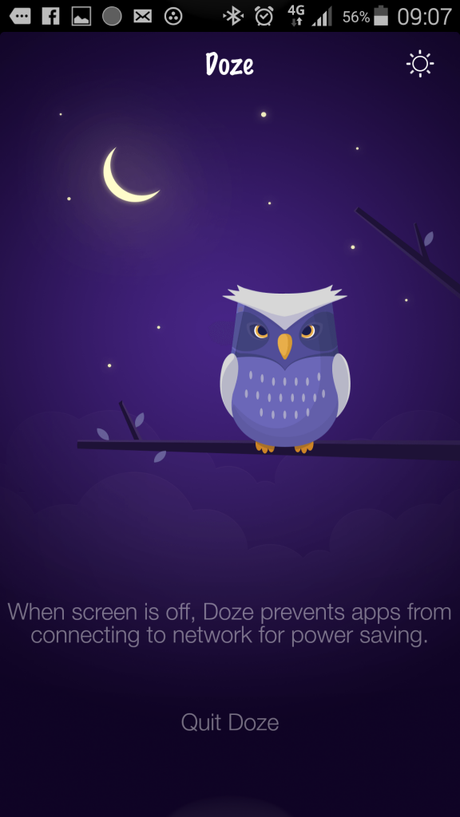 App Doze_screen2