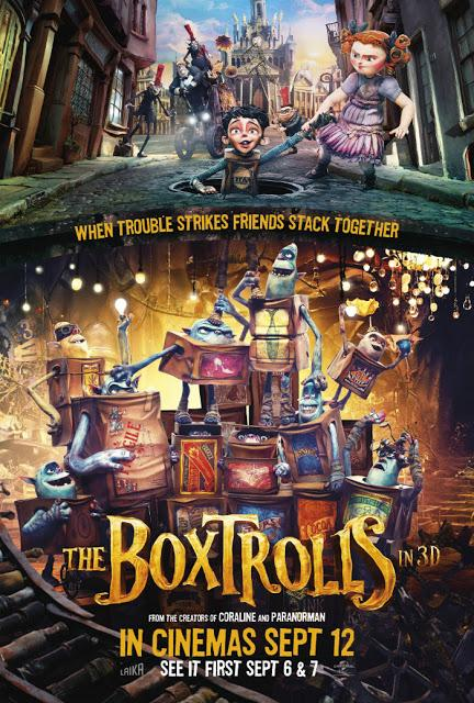 [Movie Review] Boxtrolls - Le scatole magiche