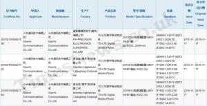 Xiaomi Mi5 certificato dalla CCC: probabile presentazione il 24 Novembre
