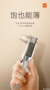 Nuovo teaser Xiaomi: il dispositivo presentato sarà molto sottile?