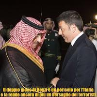 Il doppio gioco di Renzi rende ancora di più l'Italia un bersaglio Isis.
