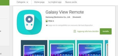 Samsung punta a farci abbandonare le piccole TV che magari abbiamo in camera per sostituirle con un tablet maggiormente predisposto ai servizi di intrattenimento del 2015, come Netflix e simili. App Android su Google Play