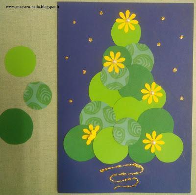 Biglietti di natale paperblog for Addobbi natalizi per bambini scuola materna
