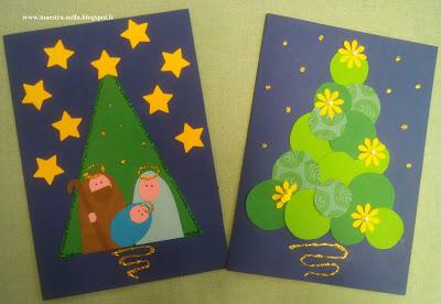 Biglietti Di Natale Semplici Per Bambini.Biglietti Di Natale Paperblog
