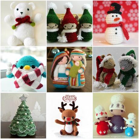 Fermaporta Natale, cappello di Babbo Natale, amigurumi - Per la ... | 460x460