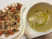 Crema verdure crostini fantasia (ricetta riciclo)