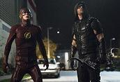 """Arrow""/""The Flash"": nuove foto crossover"