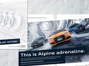 Audi: Alpine adrenaline