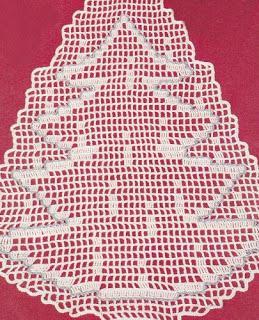 Addobbi Natalizi Uncinetto Schemi Gratis.Schemi Gratis A Uncinetto Per Natale Paperblog