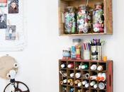 Craft studio: stanze creatività riuso