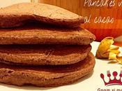 Pancakes vegani cacao
