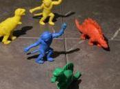 paese dinosauri plastica