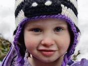 Simpatici berretti bambini: raccolta schemi.