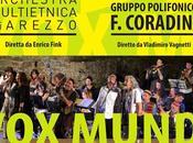 Mundi: l'Orchestra Multietnica Arezzo incontra Gruppo Polifonico Francesco Coradini