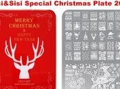 CICI&SISI Miss Xmas (Happy Reindeer) Special Christmas Stamping Plate 2016 Swatches Review