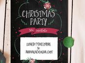 party Natale stampare decorare casa, tavola pacchi regalo!