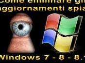 Windows Rimuovere Aggiornamenti SPIA
