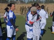 Afganistan/ CIMIC. partita calcio femminile riflettere Diritti delle Donne