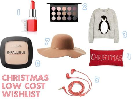 Christmas low cost wishlist