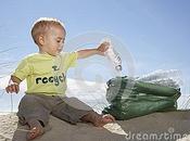 Dalla bottiglia plastica passando riciclo