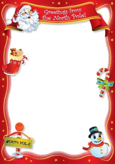 Lettera Babbo Natale Da Stampare.Lettere Di Babbo Natale Da Stampare Paperblog