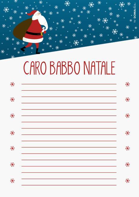 Le Lettere Di Babbo Natale.Lettere Di Babbo Natale Da Stampare Paperblog
