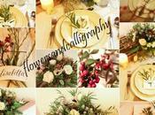 Calligrafia fiori