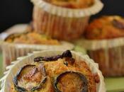 Muffin salati ricotta zucchine
