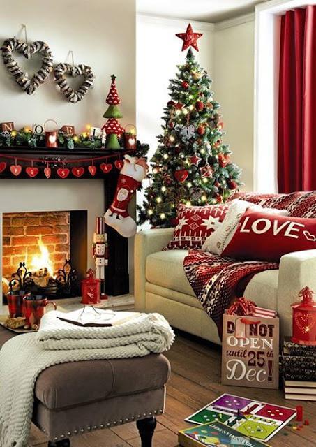 Molto 15 idee per decorare la casa a Natale - Paperblog LX89