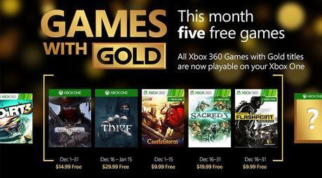 Thief, Sacred 3 e Operation Flashpoint: Dragon Rising sono disponibili da oggi gratuitamente con i Games with Gold