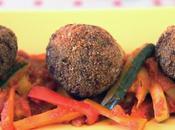 Friggitoria Polpette Carne Ragù Verdure Salsa Pomodoro Meatballs with Vegetable Ragout