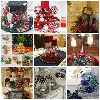 12 centrotavola fai da te per la tavola di natale paperblog - Centro tavola natalizio fai da te ...