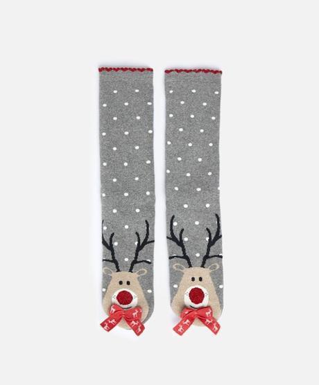 oysho reindeer calze
