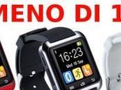 Cosa puoi comprare €10? smartwatch U80!