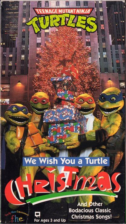 We wish you a turtle Christmas (1994) - compriamo un regalo per Splinter!
