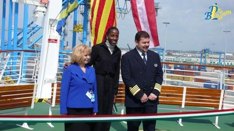 3, 2, 1, Welcome in Italy Mariner of The Seas!