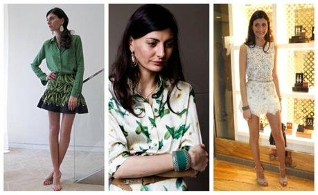 News - Giovanna Battaglia in Brazil to launch the collection of Carla Amorim