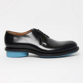JIL SANDER / FLUO BLUE SHOES /  SS 2011 COLLECTION