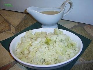 Blumenkohl helle Soße- Salsa bianca di cavolfiori
