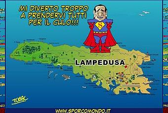 Lampedusa tieniti pure berlusconi e le tue bellezze io for Cose di casa manduria